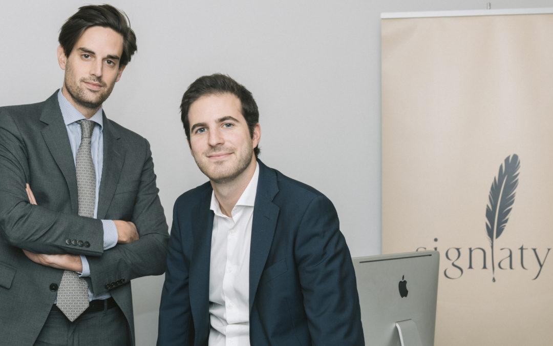 De nouvelles ambitions pour la startup Signatys
