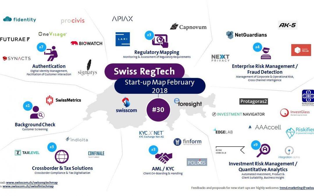 Swisscom market overview – RegTech Q1 2018